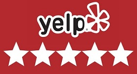 Yelp 5-star reviews